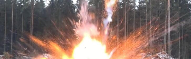 В районе Широкино боевики запускали детский самолет, начиненный взрывчаткой