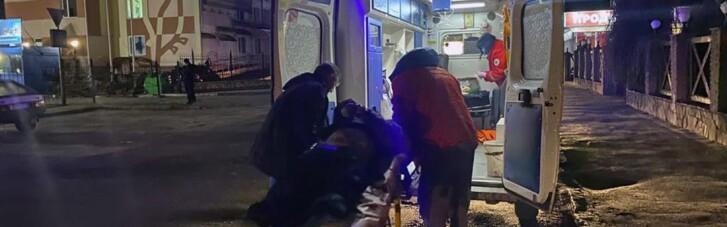 В Житомире неадекватный водитель подорвал себя гранатой после гонок с полицией