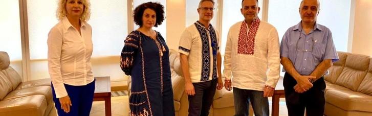 Посол Ізраїлю прибув до Києва