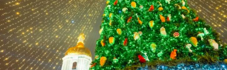 Без шляпы: киевская елка попала в топ-10 в Европе (ФОТО)