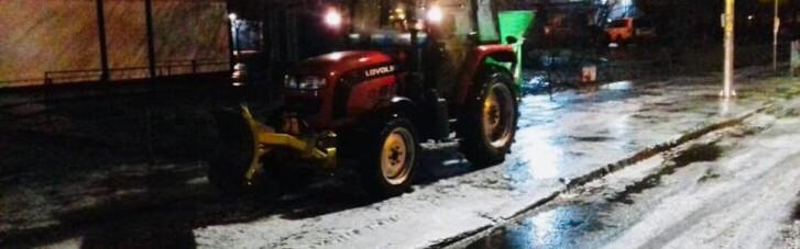 В Киеве введено оперативное положение для транспорта из-за непогоды