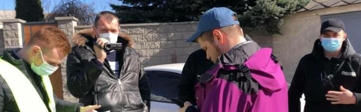 Поліція вручила підозру одному з організаторів акції під ОПУ