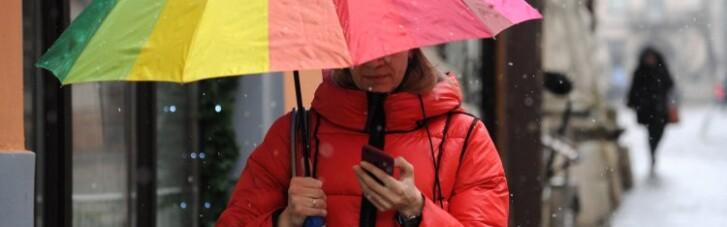 В Україні трохи потеплішає, але все ще дощитиме