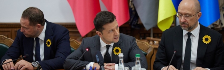 Зеленский обещал семьям погибших воинов решить вопрос с жильем