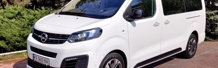 Беріть усіх. Як Opel Zafira Life став ідеальним мікроавтобусом для українських доріг