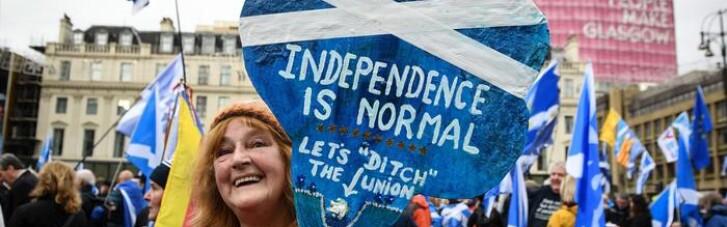 Шотландия планирует проведение второго референдума о независимости от Великобритании