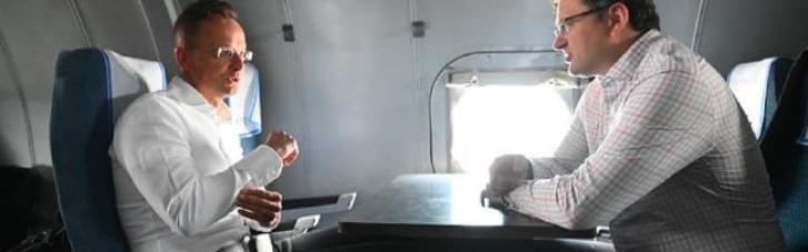 Кулеба вместе с главой МИД Венгрии отправились на Донбасс