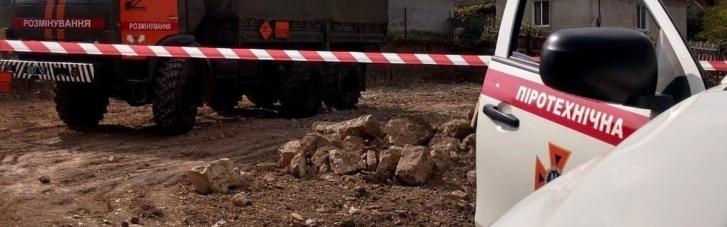 В Тернопольской области случайно раскопали 250-килограммовую авиационную бомбу, — ГСЧС