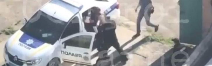 В полиции отреагировали на драку патрульных в Белой Церкви