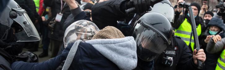 Протести в Росії: по всій країні понад 3 тисячі затриманих