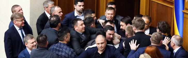 Повод для новой драки. Как депутаты будут утверждать большой Герб Украины