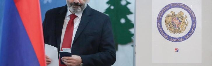 У Вірменії завершилися дострокові парламентські вибори