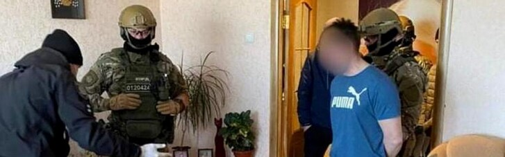Сховався у ліжку: на Луганщині затримали чоловіка, який кинув гранату в поліцейських (ФОТО)