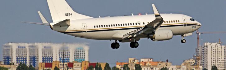 """Самолет ВМС США забрал из Одессы военнослужащего, травмированного на учениях """"Си Бриз-2020"""""""