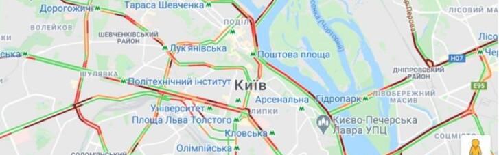 Перший день локдауну в Києві: тарифи на таксі б'ють рекорди (ФОТО)