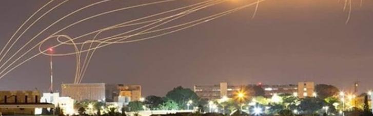 ХАМАС та Ізраїль вночі продовжували обмінюватись ракетними обстрілами (ФОТО, ВІДЕО)