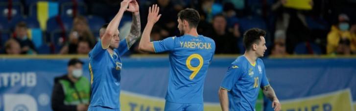 Україна мінімально обіграла Північну Ірландію (Відео)