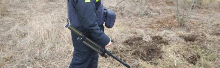 На Луганщине нашли тайник со взрывчаткой (ФОТО)