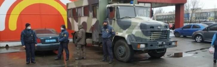 У Миколаєві ринок відмовився закритись на карантин: ввели Нацгвардію (ФОТО)
