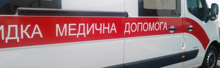 """Под Харьковом неизвестные напали на бригаду """"скорой"""": пострадали трое человек"""