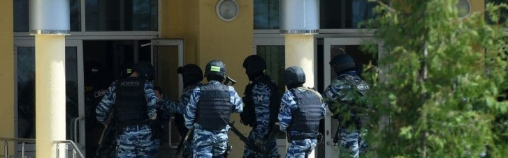 Массовое убийство в казанской школе: стрелок сам сдался силовикам (ВИДЕО)