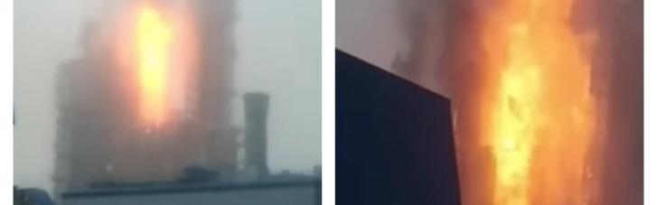 """У Росії вибухнув один із заводів """"Газпрому"""": почалася пожежа (ВІДЕО)"""