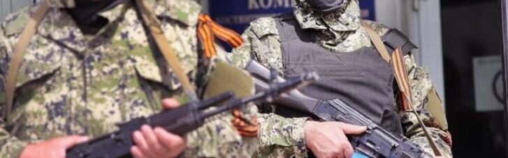 На окупованій Донеччині виявили скупчення військової техніки бойовиків (ФОТО, ВІДЕО)