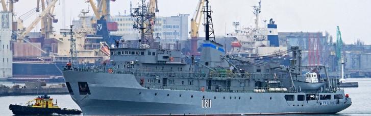 У Чорному морі український військовий корабель отримав пошкодження