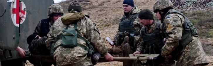 На Донбассе украинский защитник получил ранение во время обстрела