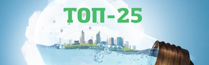 Топ-25 кращих екопрограм компаній