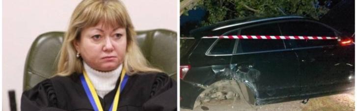 """Суддю, яка влаштувала """"п'яне"""" ДТП, позбавили водійських прав"""