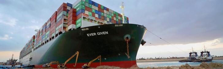 """Інцидент в Суецькому каналі: з судна дістали """"чорний ящик"""""""