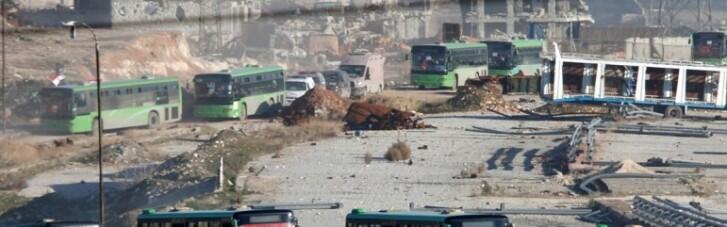 Випалена земля. Коридори для біженців з Алеппо відкривають можливість для зачищення