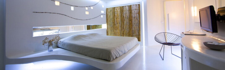 Спальня в стилі хай-тек — зручність сучасності