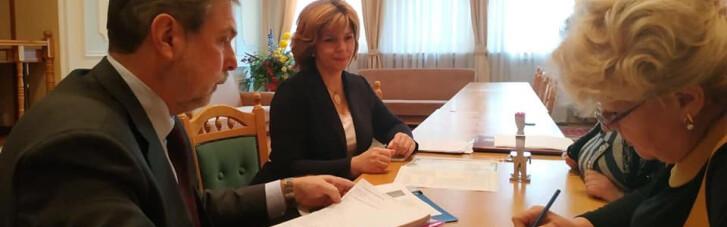 Богомолець подала документи у ЦВК