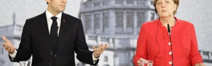 Макрон і Меркель звернулись до Путіна з приводу Донбасу