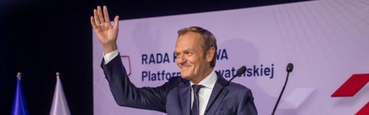 Поставив на вуха. Навіщо Туск повернувся у велику польську політику