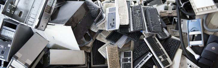 Почему сотни тысяч тонн электронных отходов в Украине разлагаются на полигонах, а не проходят рециклинг?