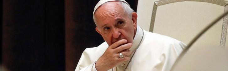 """Папа Римський звинуватив диявола у """"використанні пандемії"""""""