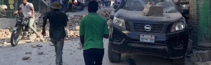 На Гаити в результате сильнейшего землетрясения погибли десятки людей