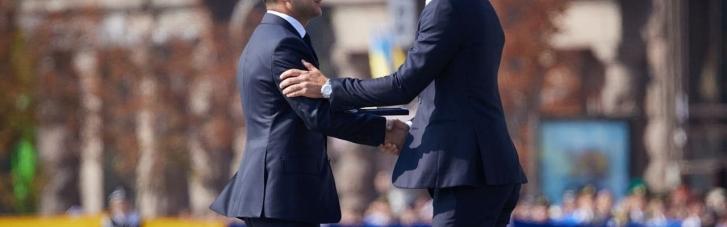 Зеленский поздравил Шевченко с днем рождения: вспомнил достижения великого футболиста