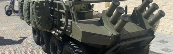 На параде ко Дню Независимости покажут боевых роботов (ФОТО)