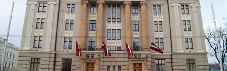 В Латвии объяснили, с чем связывают введение российских санкций