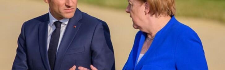 """Макрон підтримав Меркель щодо ідеї добудови """"Північного потоку-2"""""""