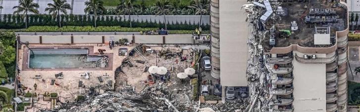 Обвалення багатоповерхівки біля Маямі: під завалами виявили нових жертв