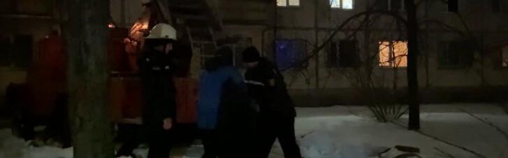В Черкассах горела многоэтажка: спасли восемь человек (ФОТО)