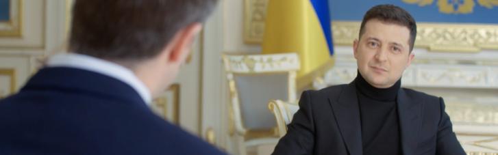 ОПУ підчистив інтерв'ю Зеленського: Як подали цитату на сайті і що насправді сказав президент