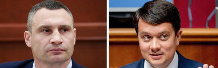 Рейтинг, да не тот. Смогут ли Кличко и Разумков встретиться во втором туре президентских выборов