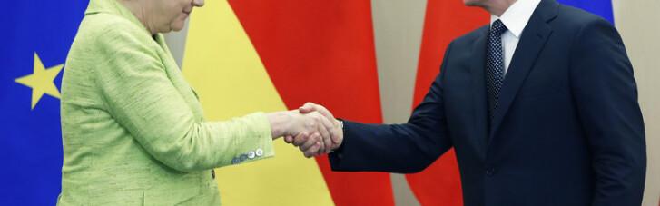 Про що говорила Меркель з Путіним
