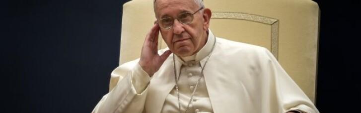 Папа Римський закликав уникнути ескалації на Донбасі